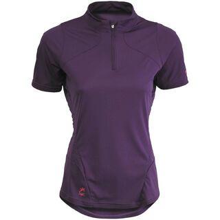 Scott Shirt Womens Sky s/sl, dark purple/raspberry pink - Radtrikot