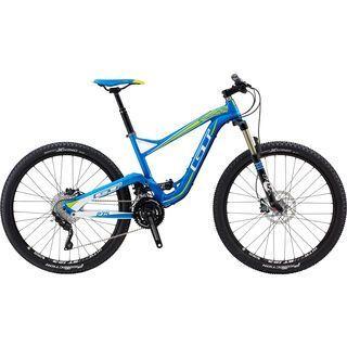 GT Sensor Pro 27.5 2014, blue - Mountainbike