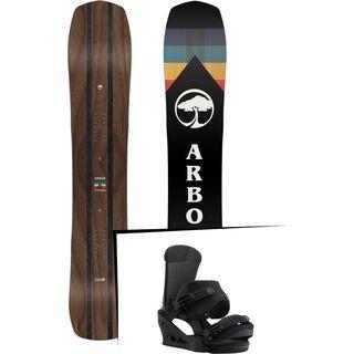 Set: Arbor A-Frame 2019 + Burton Custom black matte