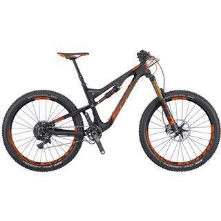 Scott Genius LT 700 Tuned Plus 2016, black/orange - Mountainbike