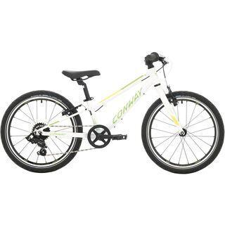 Conway MS 200 Rigid 2020, white/green - Kinderfahrrad