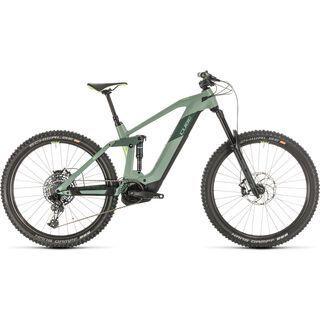 *** 2. Wahl *** Cube Stereo Hybrid 160 HPC SL 27.5 2020, green´n´sharpgreen - E-Bike | Größe 16 Zoll