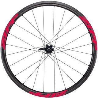 Zipp 202 Firecrest Tubular Disc-brake, schwarz/rot - Hinterrad