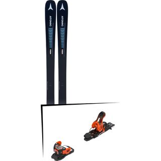 Set: Atomic Vantage 90 TI W 2019 + Salomon Warden 11 orange/black