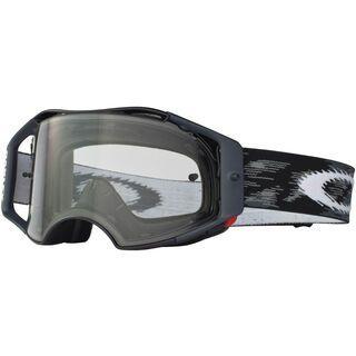 Oakley Airbrake MX, jet black speed/Lens: clear - MX Brille