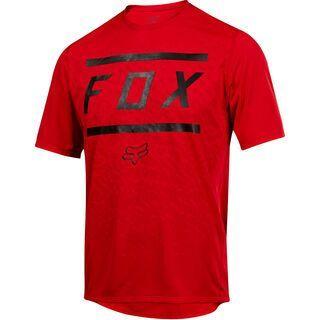 Fox Ranger SS Bars Jersey, red - Radtrikot