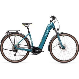 Cube Touring Hybrid ONE 400 Easy Entry blue´n´green 2021