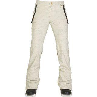 686 Womens After Dark Pant, ivory lattice - Snowboardhose