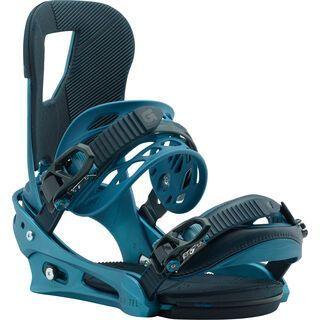 Burton Cartel 2018, blue boy - Snowboardbindung