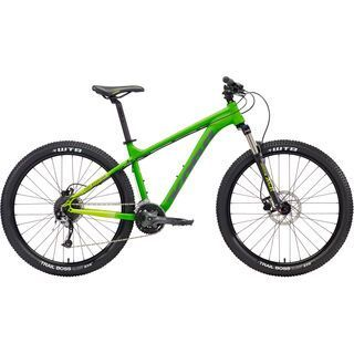 Kona Fire Mountain 26 2018, green/lime/gray - Mountainbike