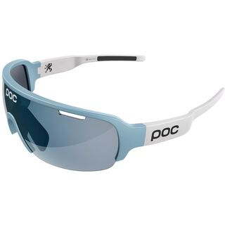 POC DO Half Blade Ritte Edition, lue/Lens: violet sky mirror - Sportbrille