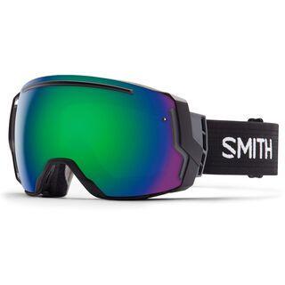 Smith I/O 7 inkl. Wechselscheibe, black/Lens: green sol-x mirror - Skibrille