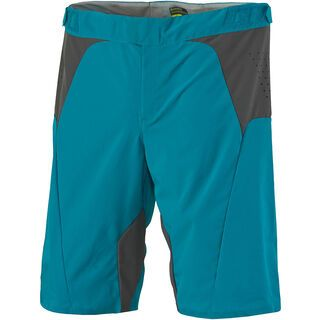 Scott Womens AMT ls/fit Shorts, medium blue/orange - Radhose