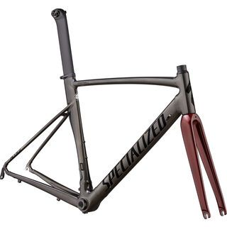 Specialized Allez Sprint Frameset 2020, chrome black/crimson