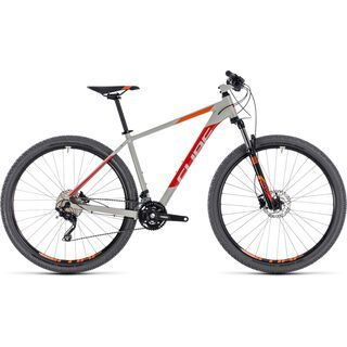 Cube Attention 27.5 2018, grey´n´red - Mountainbike