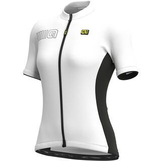 Ale Color Block Lady Jersey, white - Radtrikot