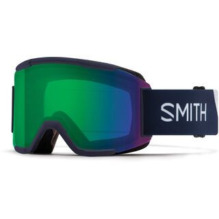 Smith Squad inkl. WS, ink stratus/Lens: cp everyday green mir - Skibrille