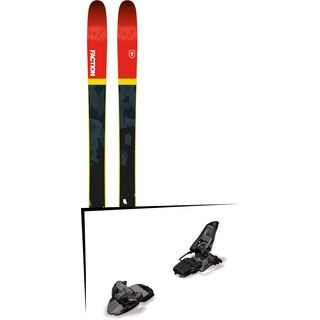Set: Faction Prodigy 2.0 2018 + Marker Squire 11 black anthracite