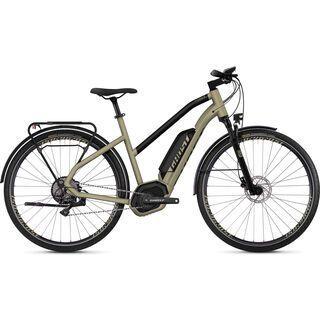 *** 2. Wahl *** Ghost Hybride Square Trekking B5.8 W AL 2019, gold/black - E-Bike   Größe L // 56 cm