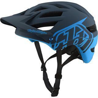 TroyLee Designs A1 Drone Helmet, gray/ocean - Fahrradhelm