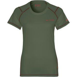 Vaude Women's Hallett Shirt, cedar wood - Radtrikot