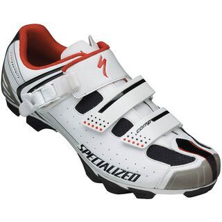 Specialized Comp MTB, White/Red - Radschuhe