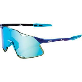 100% Hypercraft inkl. WS, metallic into the fade/Lens: blue topaz ml mir - Sportbrille