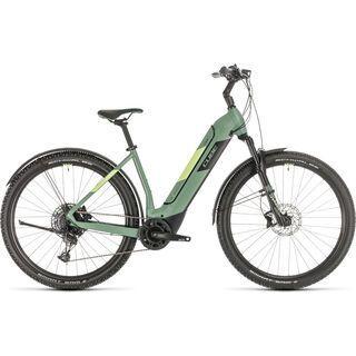 Cube Nuride Hybrid EXC Allroad 625 2020, green´n´sharpgreen - E-Bike