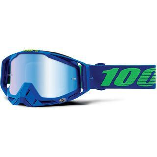 100% Racecraft inkl. WS, dreamflow/Lens: mirror blue - MX Brille