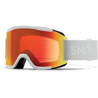 Smith Squad inkl. WS, white vapor/Lens: cp everyday red mir - Skibrille