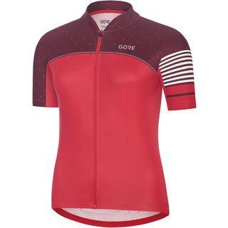 Gore Wear C5 Damen Trikot, pink/red - Radtrikot