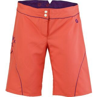Scott Short Womens Rio Samba, coral pink - Shorts