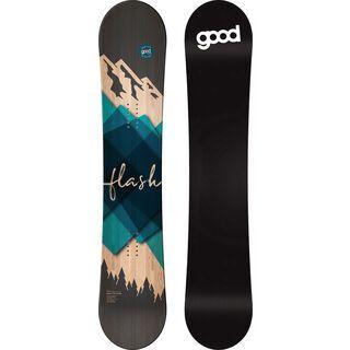 goodboards Flash Nose Rocker X-Wide 2020, blau - Snowboard