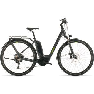 Cube Touring Hybrid EXC Easy Entry 2020, iridium´n´green - E-Bike