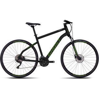 Ghost Square Cross 5 2016, black/green - Fitnessbike
