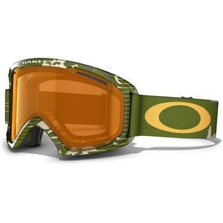 Oakley O2 XL, High Country Green Camo/Persimmon - Skibrille