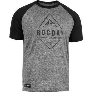 Rocday Peak Jersey melange / black