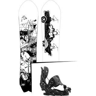 Set: Burton Fish 2017 + Flow Fuse Hybrid (1513148S)