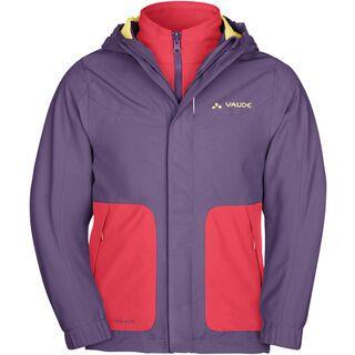 Vaude Kids Campfire 3in1 Jacket IV, dusty violet