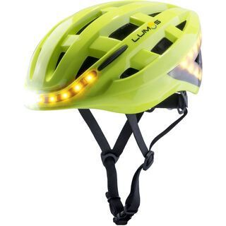 Lumos Kickstart Helmet with MIPS (refreshed), electric lime - Fahrradhelm