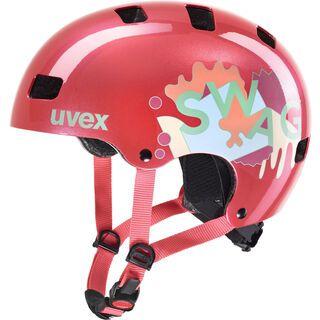 uvex kid 3, coral - Fahrradhelm