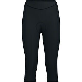 Vaude Women's Advanced 3/4 Pants III, black - Radhose