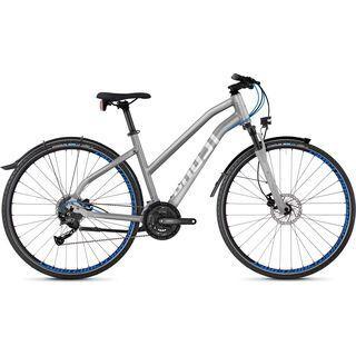 Ghost Square Cross X 3.8 W AL 2018, silver/blue - Fitnessbike