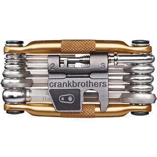 Crank Brothers M17, gold - Multitool