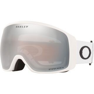 Oakley Flight Tracker XL Prizm, matte white/Lens: black iridium - Skibrille