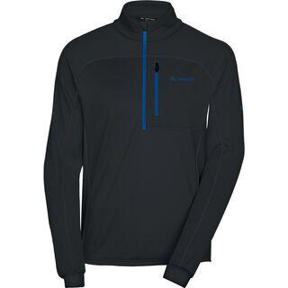 Vaude Men's Boe Halfzip, black/blue - Fleecepullover
