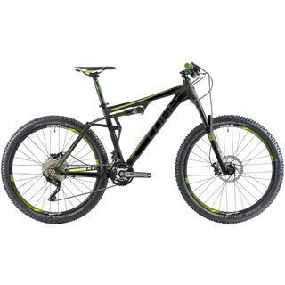 Cube AMS 130 HPA Pro 27.5 2014, grey/green - Mountainbike