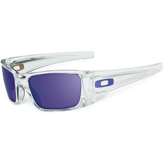 Oakley Fuel Cell, Polished Clear/Violet Iridium - Sonnenbrille