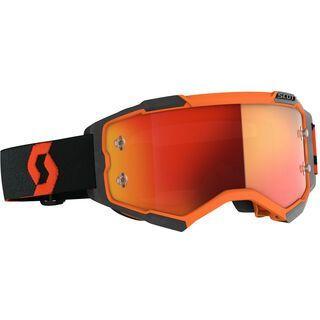 Scott Fury Goggle Orange Chrome Works orange/black