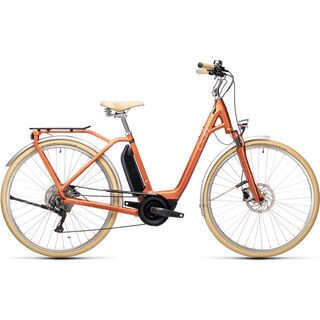 Cube Ella Ride Hybrid 400 red´n´grey 2021